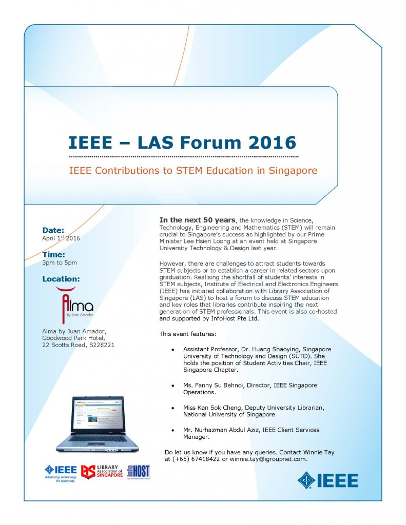 IEEE - LAS Forum Poster