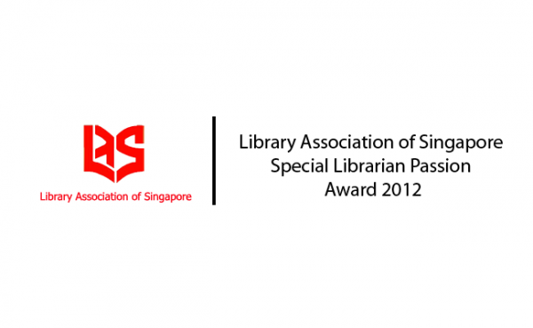 LAS Special Librarian Passion Award 2012